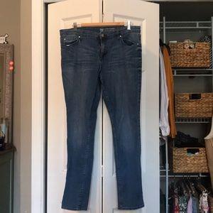 GAP Medium Wash Skinny Jeans